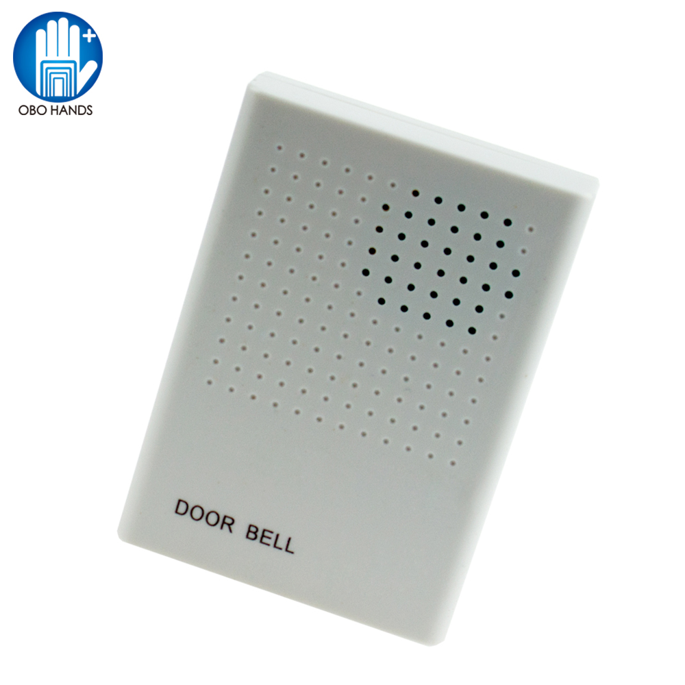 Dc12v Wired Door Bell With 4 Wires Doorbell Dont Need Battery Correct Wiring For Access Control Dingdong Abs System In Kits From