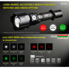 KLARUS FH10 Zoomable Tactical Hunting Flashlight Torch 3000mW Green Red LED Light White Light 700 Lumens