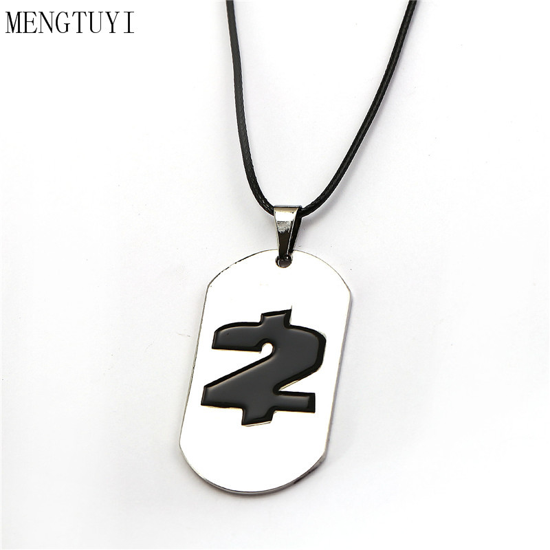 New Online Game Payday2 Metal Sliver Necklace Dog Tag Rope Chain Pendants Collar Trinket Choker Men Boy Christmas Gift Accessory