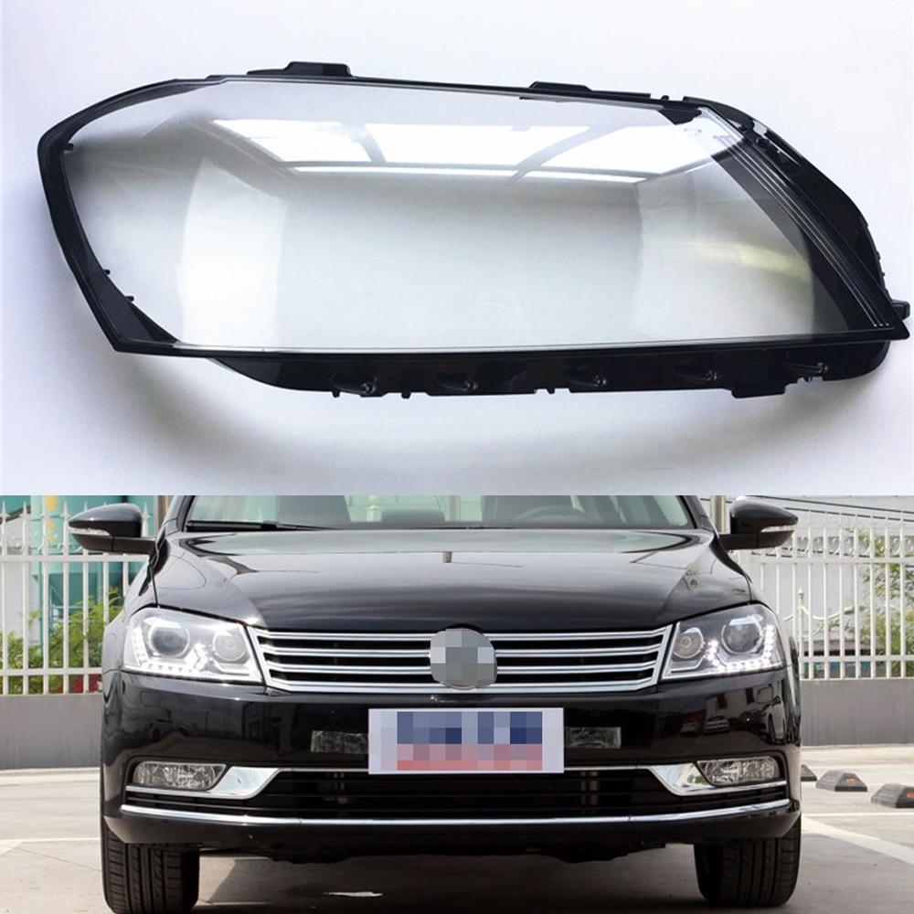 Car Headlight Lens For Volkswagen VW Magotan / Passat B7L 2012 2013 2014 2015 Car Headlight Headlamp  Lens Auto Shell Cover