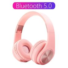 Tourya A1 Bluetooth 5 0 Wireless Headphone With HD MIC Headset Support Tf card Earphone Adjustable Foldable Headphone For phone cheap Dynamic Wireless+Wired 80dBdB Nonem For Internet Bar Monitor Headphone for Video Game Common Headphone For Mobile Phone