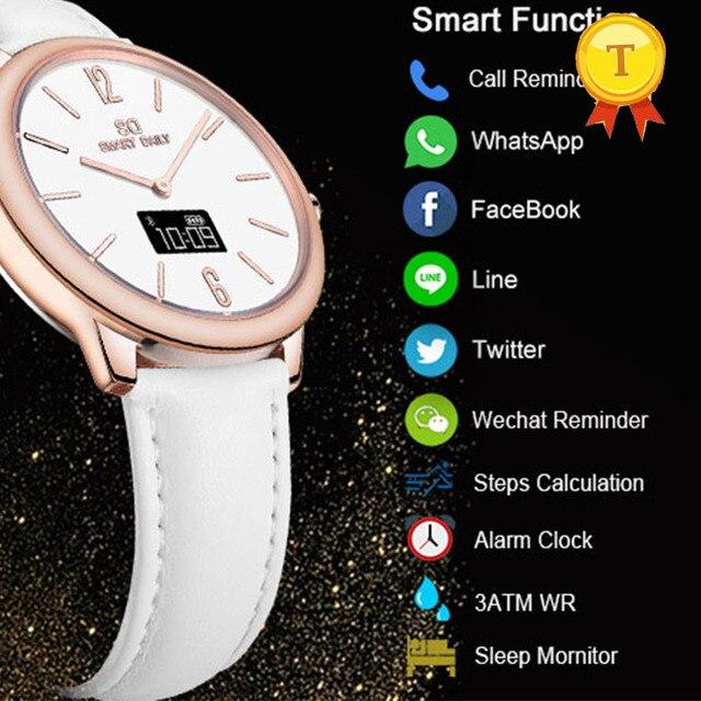 Luxury Stainless Steel Bluetooth Smart Watch