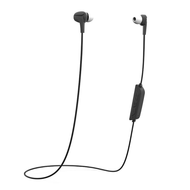 New In-ear Earphone HiFi Stereo Bluetooth 4.0 Earphone with Mic Hands-free Call and Voice Prompt for Smartphone em290 copper wire earphone in ear with mic clear 3d sound quality handsfree call for android ios smartphone oppo xiaomi mp3 pc