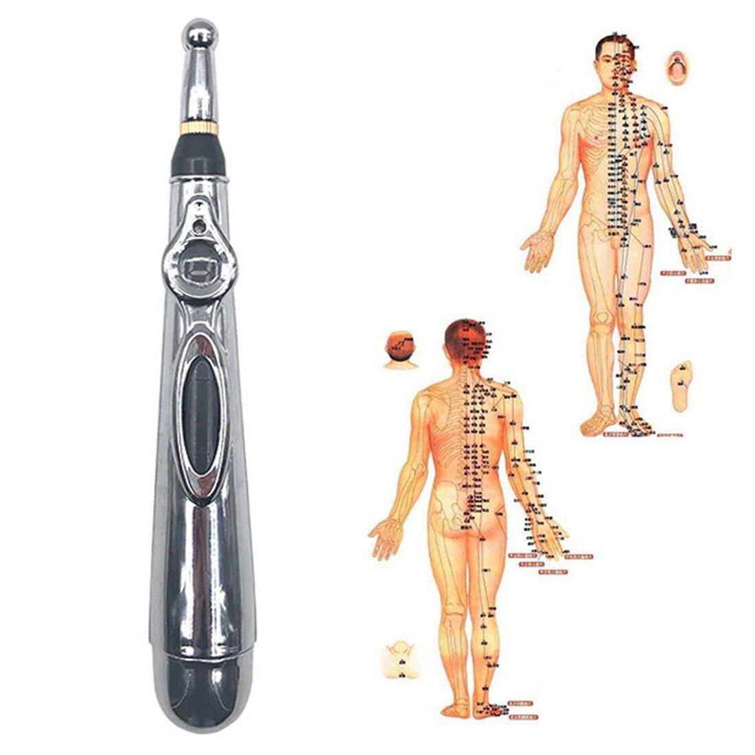Therapeutic Massage Pen 1pc Automatic Exploration Point Pen According To The Energy Meridian Pen Meridian Energy Pen Electric
