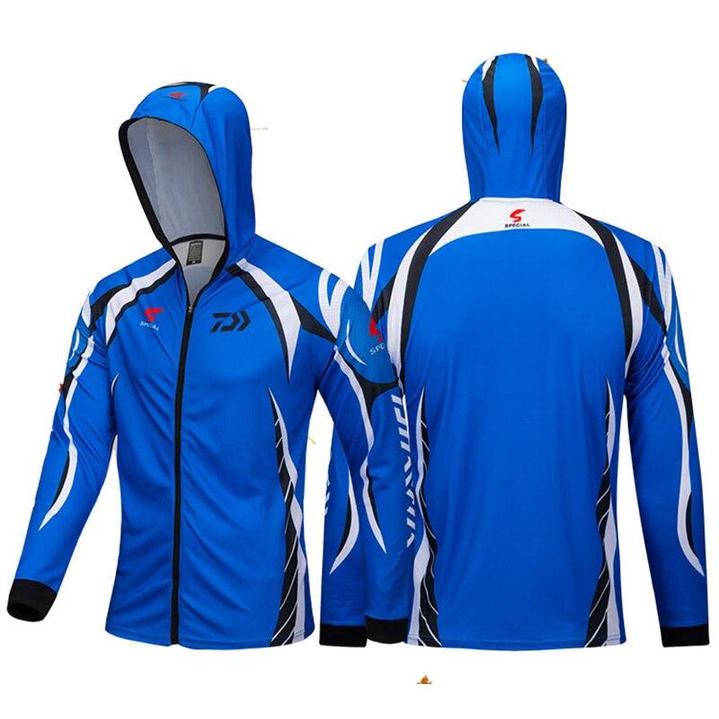 1 pc Daiwa Vêtements De Pêche En Plein Air À Séchage Rapide Pêche Vêtements Ensembles Hommes Respirant Vêtements de Sport Dawa Nouvelle Vêtements De Pêche Veste