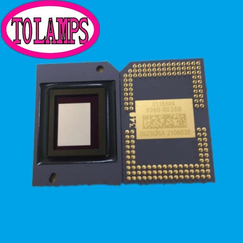 second-hand Projector DMD chip 8060-6038B 8060-6039B 8060-6139B 8060-6138B for Ben q NP110+ NP115+ brand new dmd chip 1280 6038b 1280 6039b 1280 6138b 6139b 6338b