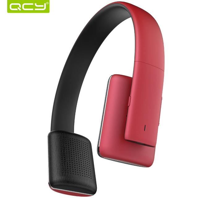 Qcy50 qcy auriculares de alta fidelidad de sonido inalámbrico bluetooth 4.1 auriculares de cancelación de ruido 3d estéreo de auriculares con micrófono para llamadas
