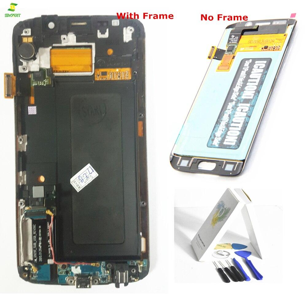 S6 Bord 5.1 ''Lcd G925 pour Samsung Galaxy S6 Bord G925 G925F LCD Full Affichage Écran Tactile Digitzier Écran assemblée Complet