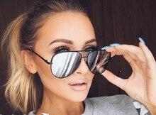 Mrs Win Hot Fashion Aviator Sunglasses Women Men Classic Brand Designer Mirror Sun Glasses oculos de sol feminino UV400 Sunglass