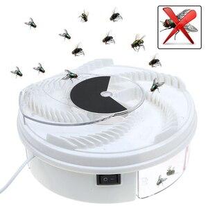 Image 5 - Girar armadilhas de insetos voar armadilha elétrica usb automático voar coletor armadilha controle rejeição pragas coletor mosquito voando anti assassino