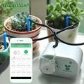 Mobiele telefoon controle Intelligente tuin automatisch sproeisysteem apparaat Vetplanten planten druppelirrigatie tool waterpomp timer systeem