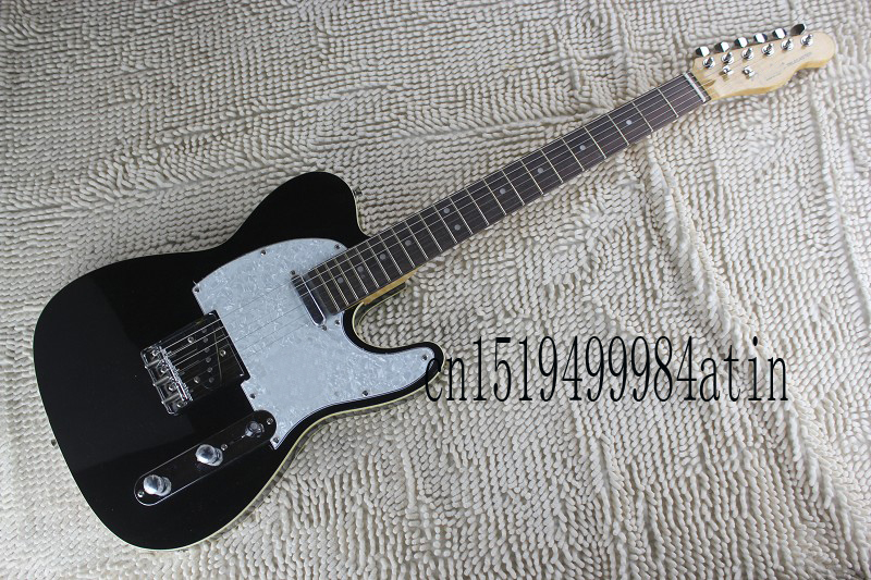 Free shipping New style F TELE telecaster BLACK electric guitar in stock 6 strings guitar In Stock  @16Free shipping New style F TELE telecaster BLACK electric guitar in stock 6 strings guitar In Stock  @16