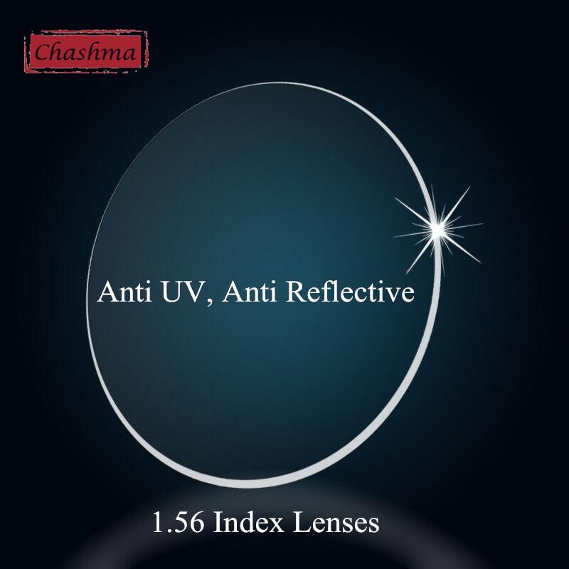 Chashma Quality Index 1.56 Clear Lenses Eyes Asphere Prescription Anti Reflective Reading Lenses Astigmatism Myopia Glass