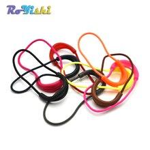 1000 pz/pacco Colore Della Miscela U Forma Cord Zipper Pull Strap Lariat Per Gli Accessori di Abbigliamento