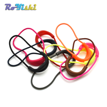 1000pcs/pack Mix Color U Shape Cord Zipper Pull Strap Lariat For Apparel Accessories