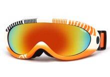 POLISI Niños Niños UV400 gafas de Esquí Snowboard Skate Gafas de Esquí de Invierno Moto de Nieve Esqui Gafas Niños Niñas Anti-Vaho Gafas de Nieve