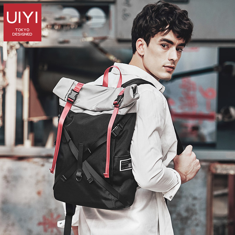 New preppy style Laptop Backpack Mens Travel Bags backpack student Waterproof polyester Black Computer Backpacks For TeenagerNew preppy style Laptop Backpack Mens Travel Bags backpack student Waterproof polyester Black Computer Backpacks For Teenager