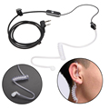 NI5L 2 Pin Retevis PTT MIC Auricular Tubo Acústico Del Auricular para Baofeng Radios B