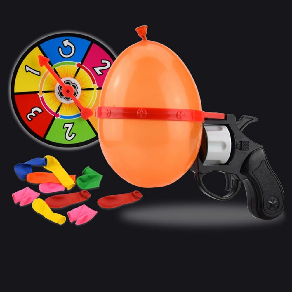 Balloon russian roulette gun