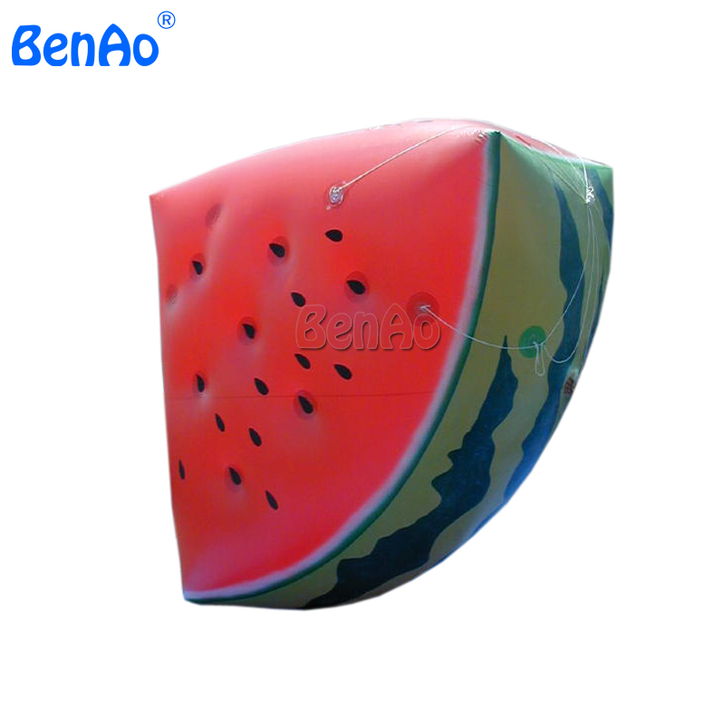AO023 Watermelon balloon for advertising / Funny watermelon inflatable helium balloons Include the repair kits and rope стоимость
