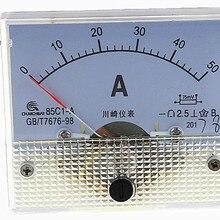 1 шт. 85C1-A 1A 2A 3A 5A 10A 15A 20A 30A 50A 75A DC аналоговый измеритель Панель усилитель тока амперметры датчик