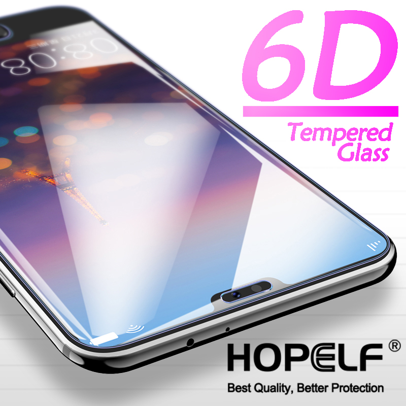 6D Tempered Glass for Huawei P20 Lite Pro Screen Protector on P20 Lite Protective Glass For Mate 20 10 Lite Glass P Smart 2019-in Phone Screen Protectors from Cellphones & Telecommunications on