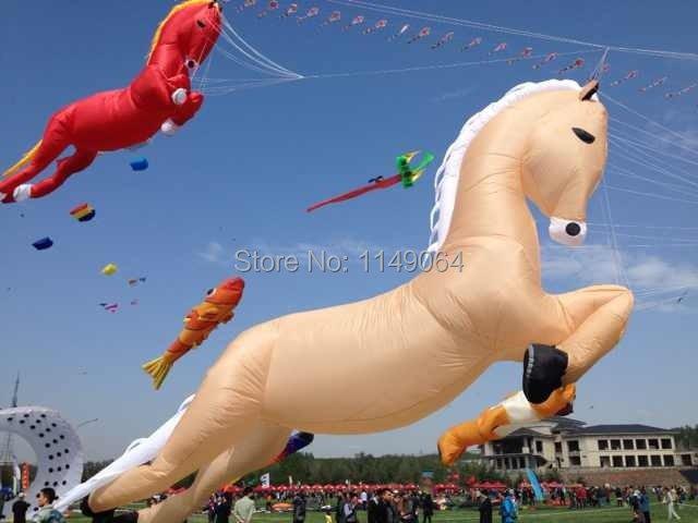 Mostrar diferentes gran cometa kite festival doble línea cometa del truco 23 m pulpo cometas fábrica hcxkite interesado espada