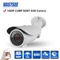 1080 p câmera de 2mp hd analog ahd-h sony imx322 sensor 2.8-12mm zoom ao ar livre à prova d' água visão noturna 1920*1080 de segurança cctv