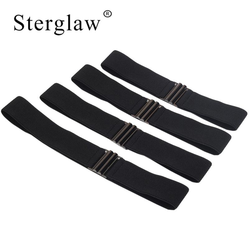 60-80X5CM New Women Leisure Black Elastic Belt Woman Wide Waist Female Cummerbunds For Autumn Clothing Accessories Belts J211