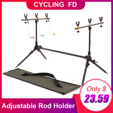 Lixada Adjustable Rod Holder Carp Fishing Pole Pod Stand For Retractable Tackle Accessories for Supplies