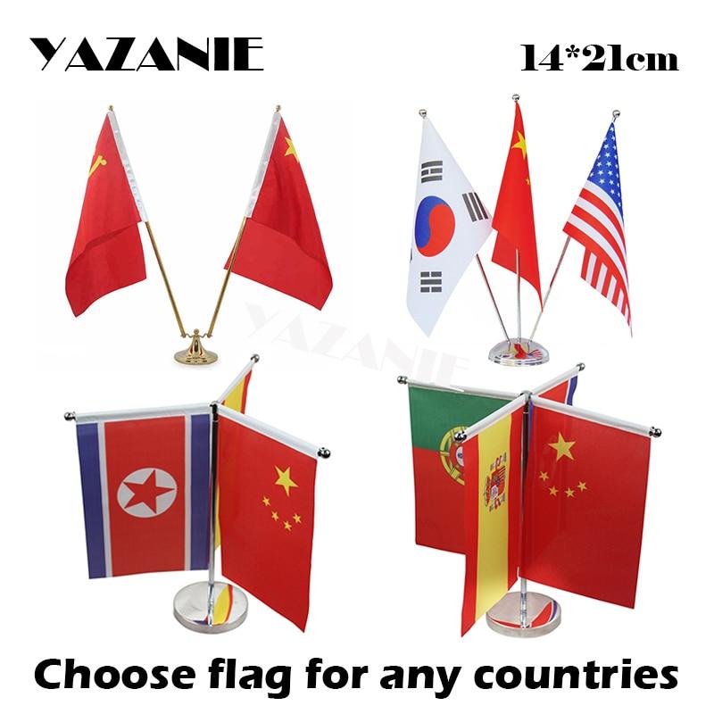 Belize Flag North America Country Table Hook Folding Bag Desk Hanger Foldable Holder