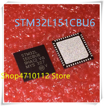 NEW 10PCS/LOT STM32L151CBU6 STM32L151 CBU6 STM32L 151CBU6 QFN-48 IC
