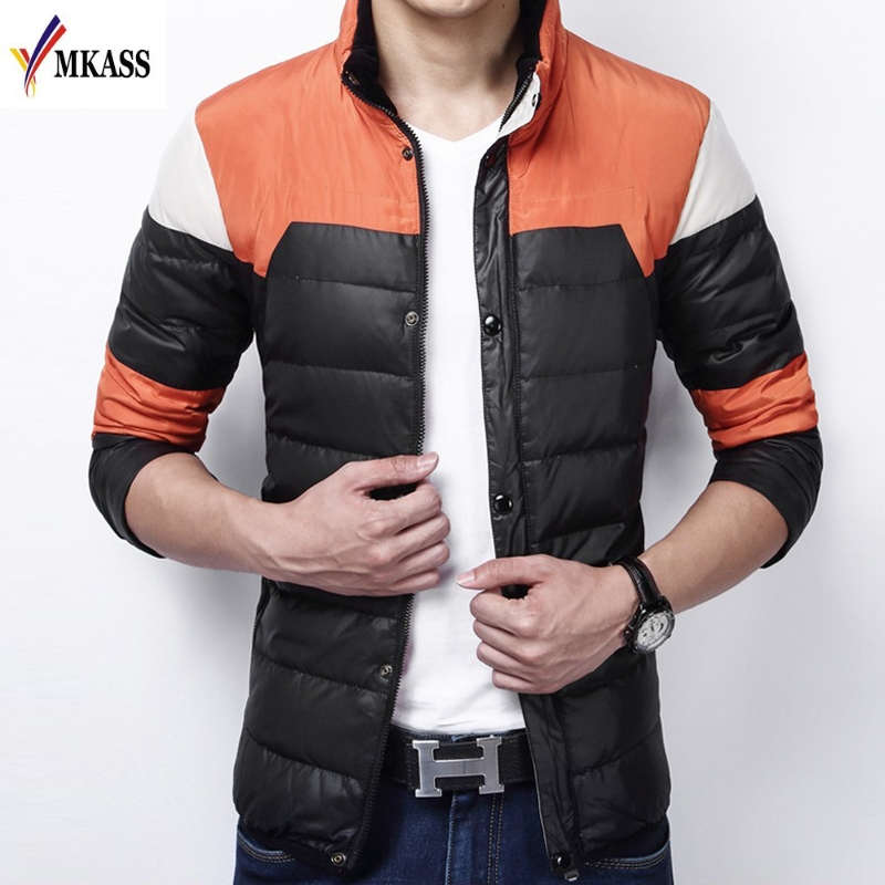 Men Winter Jacket Men's Warm Thin Casual Coats Windbreaker Parka Mens Coats And Jackets Jaqueta Masculina High Quality