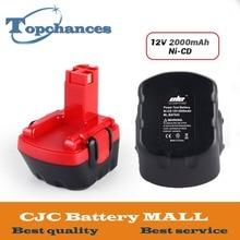 Newest RU US High Quality 12V 2000mAh Ni-CD Battery for Bosch GSR 12 VE-2, 2000mAH NI-CD BAT043 BAT045 BTA120 26073 35430 цена и фото