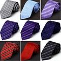 2016 Nuevas Llegadas Garantizado 100% Corbata de Seda Para Los Hombres Famosos marca Corbata de Seda de Los Hombres Del Novio Matrimonio Corbata Lazos de Los Hombres de Alta calidad