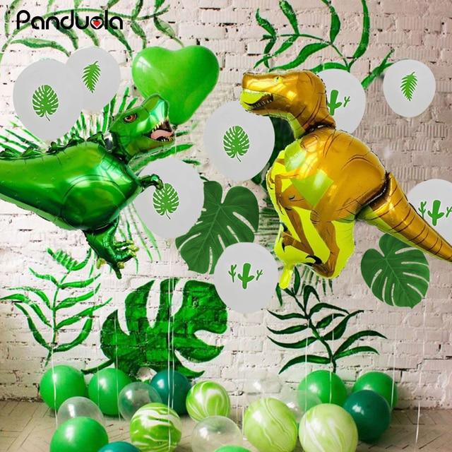 Zoo Party Baby Birthday Decorations Boy Farm Decoration Room Decor Jungle Supplies Dinosaur