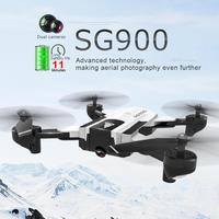 VODOOL SG900 RC Drone With 4K HD Camera FPV WiFi Optical Flow RC Quadcopter Helicopter Auto Return Dron Video Aircraft With Bag