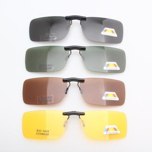 14e4606020 Polarized Sunglasses Clip on UV400 Sun Glasses Men 4 Color Lenses Metal  Plastic Frame Eyeglasses Clip Driving Sunglasses Women
