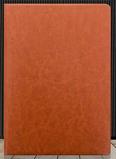 Кожаная обложка бизнес тетрадь для студентов дневник тетрадь A5/A6/B5 сшитая Мягкая обложка - Цвет: Brown