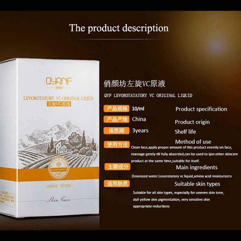 Yüz özü sıvı beyazlatma yüz cilt bakımı orijinal nemlendirici C vitamini sıvı Serum Anti-aging sıvı Serum 10ml bir