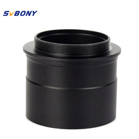 Black 2 To T2 Telescope Eyepiece Mount Adapter W Thread To Accept 2 Filter Telescope Camera