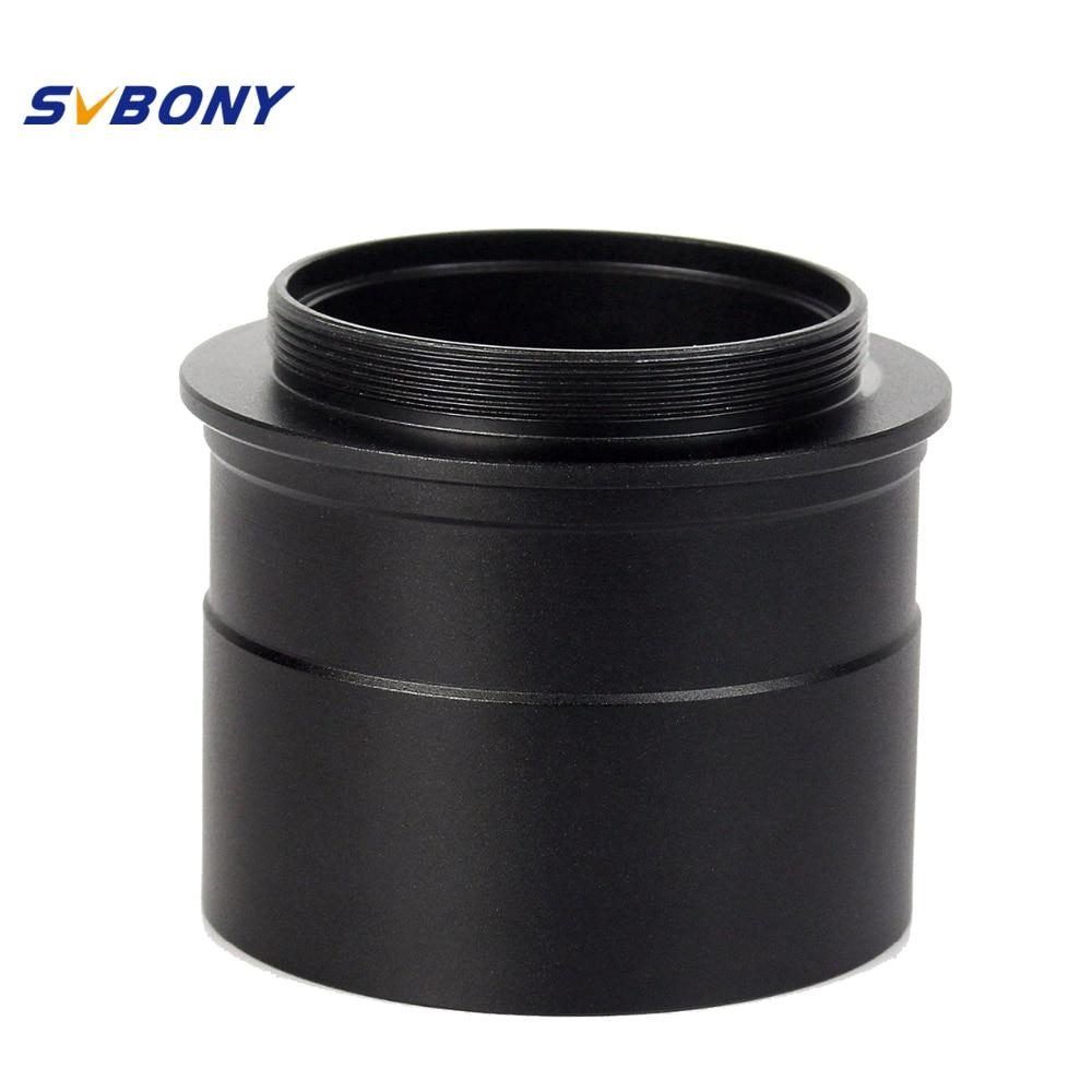 """Svbony 2 """"до T2 адаптер окуляра w/Нитки принять 2"""" фильтр Монокуляр бинокль телескоп камера W2760"""