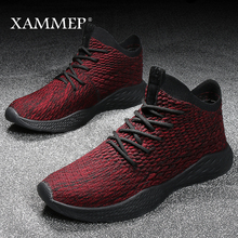Men Casual Shoes Men Sneakers Brand Men Shoes Male Flats Breathable Mesh Slip On High Quality Loafers Spring Autumn Xammep(China)