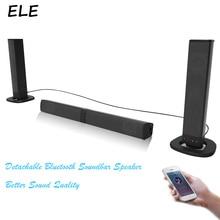 ELE ELEOPTION 20 Вт Беспроводная bluetooth-колонка беспроводная гарнитура с встроенными часами колонки звуковая штанга бум коробка USB AUX Mp3 стерео звук