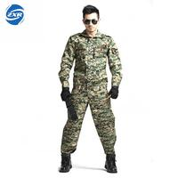 Army Cs Camouflage Tactical Airsoft Uniform Jungle Camouflage Suit Tactical Soldier Combat Jacket Military Clothing Set