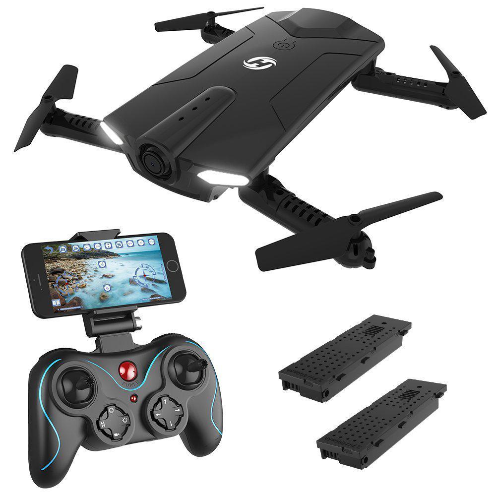 [ЕС США наличии] святой камень HS160 тень селфи FPV системы RC Drone 720P HD Wi Fi камера Складная Высота удерживайте один ключ начать вертолет