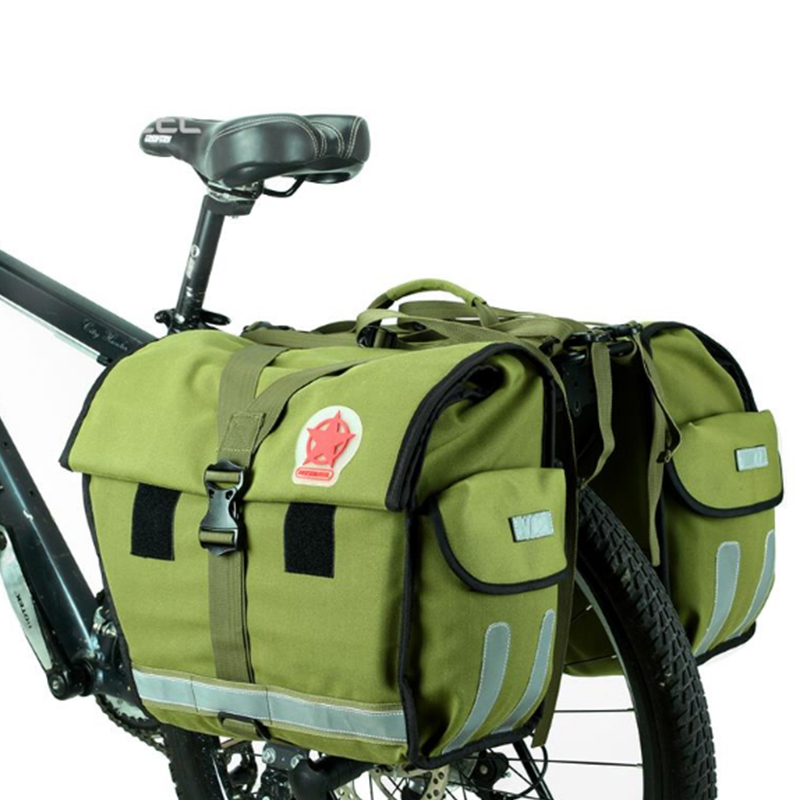 Bicycle Waterproof Shelf Bag Cycling Bicycle Accessories Camel Bag Mountain Bike Bicycle Bag L37*H32*W20cm BG0015  цена и фото