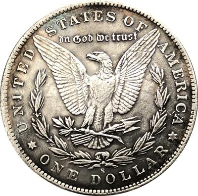 Hobo Nickel 1881-CC USA Morgan Dollar COIN COPY FREE SHIPPING Type 82