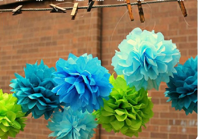 6 inch handmade 12 colors tissue paper flowers pom poms balls 6 inch handmade 12 colors tissue paper flowers pom poms balls lanterns party decor for wedding decoration 10piecebag 4zhd017 1 mightylinksfo