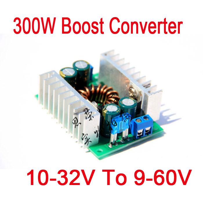 Dc Dc Boost Converter 300w 8a 10 32v To 9 60v 12v 19v 24v
